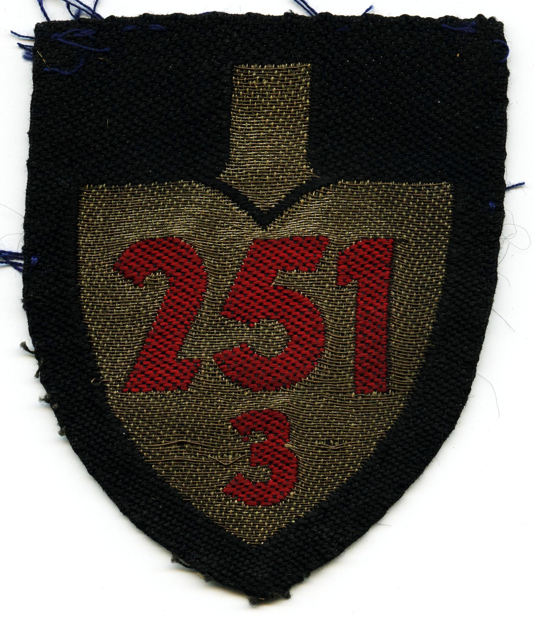 x-251-3-003 Abzeichen